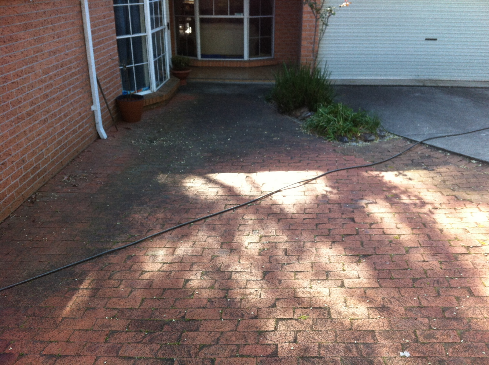 pavers-before
